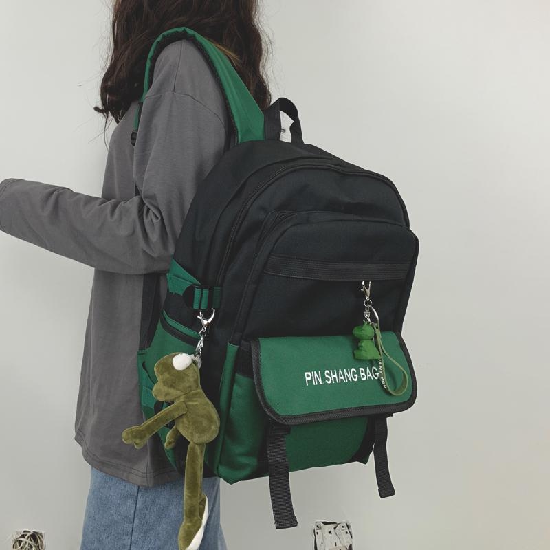 包包 书包女ins风双肩包韩版原宿初高中大学生大容量15.6寸电脑背包男_推荐淘宝好看的女包包