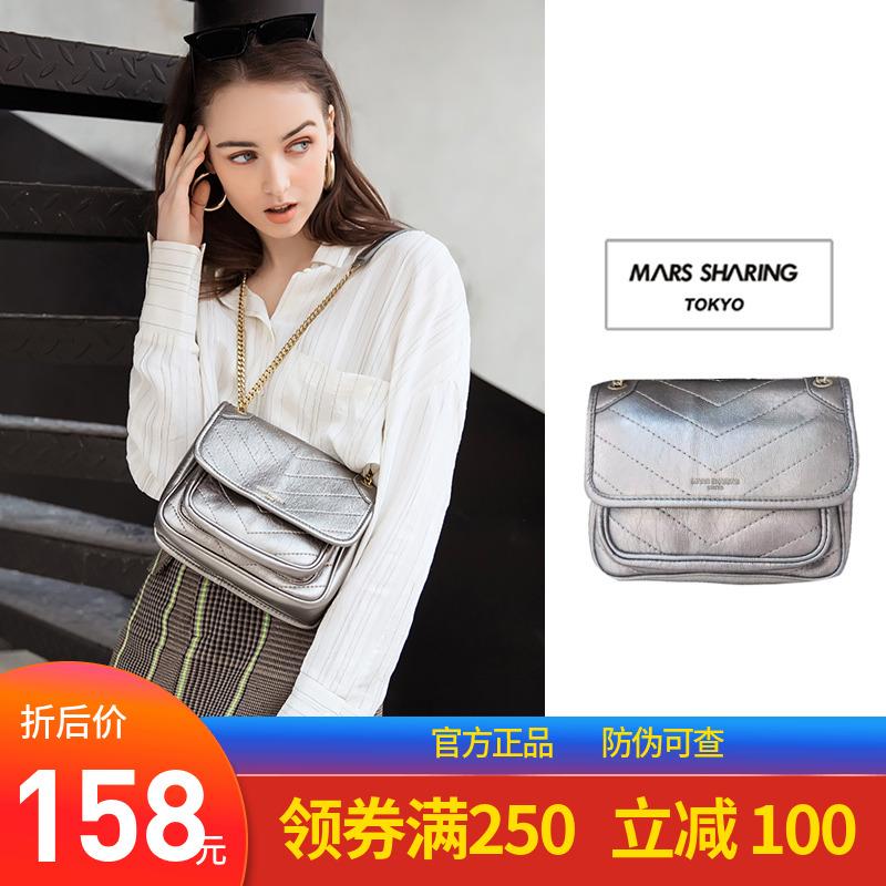 白色单肩包 日本MARS SHARING三色流浪包邮差包单肩包斜挎包女士包袋胸包挎包_推荐淘宝好看的白色单肩包