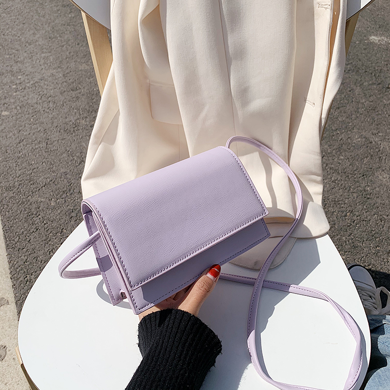 紫色糖果包 ins超火迷你糖果色少女小包包韩版夏天2020新款百搭单肩斜挎小包_推荐淘宝好看的紫色糖果包