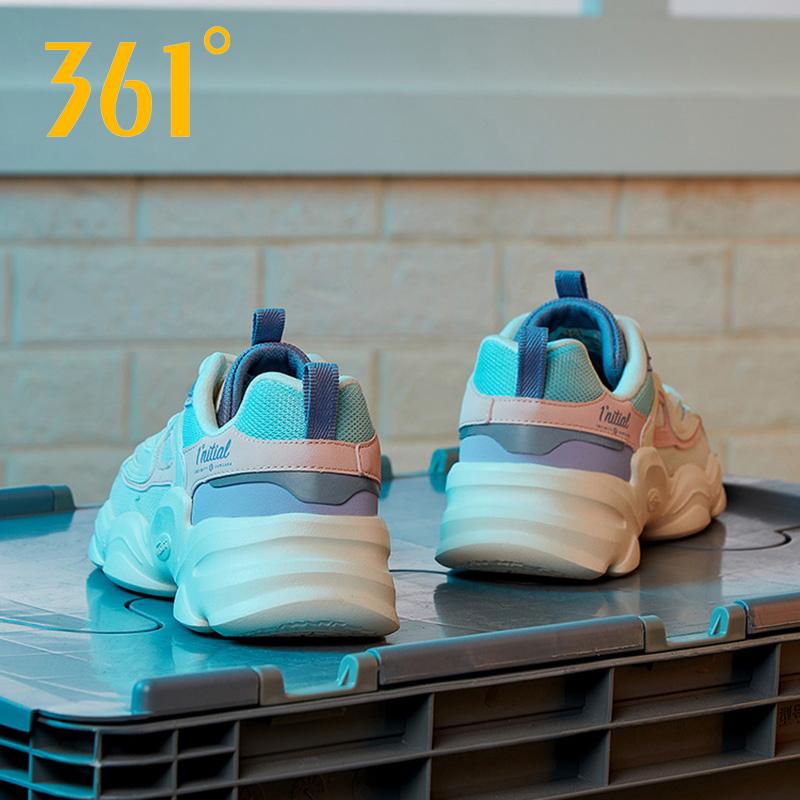 361度女式运动鞋 361女鞋运动鞋女夏季2021新款网面透气休闲鞋官网旗舰361度老爹鞋_推荐淘宝好看的女361度女运动鞋