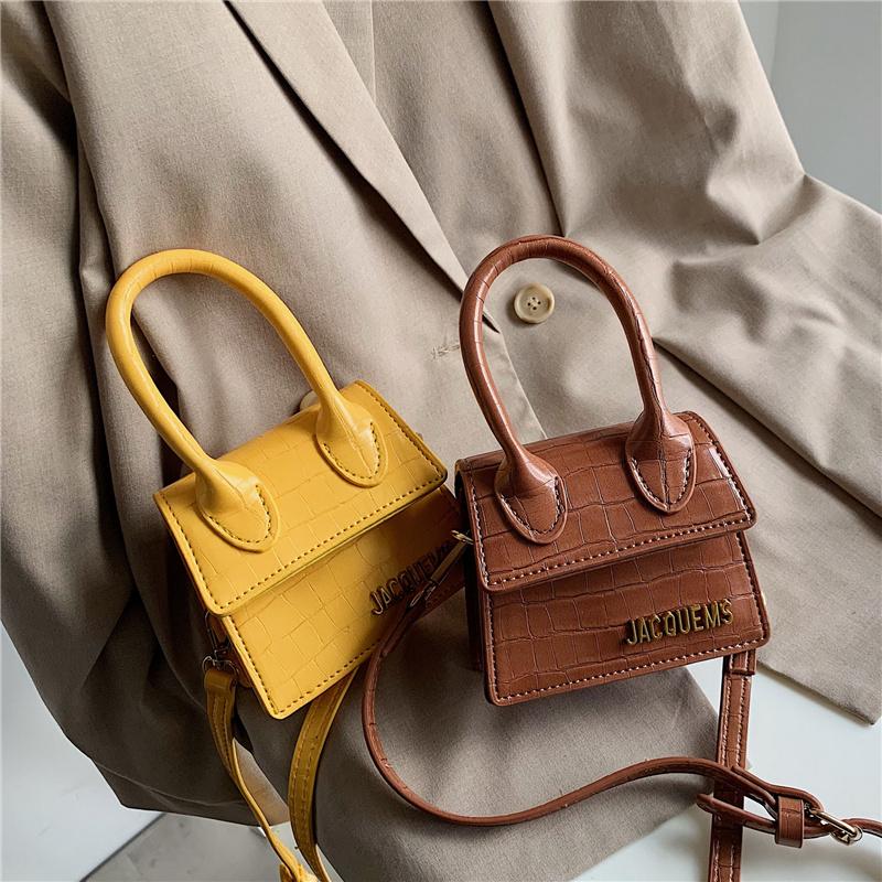 黄色斜挎包 小包包女2020新款时尚斜挎简约磨砂口红包黄色包迷你挎包小手提包_推荐淘宝好看的黄色斜挎包
