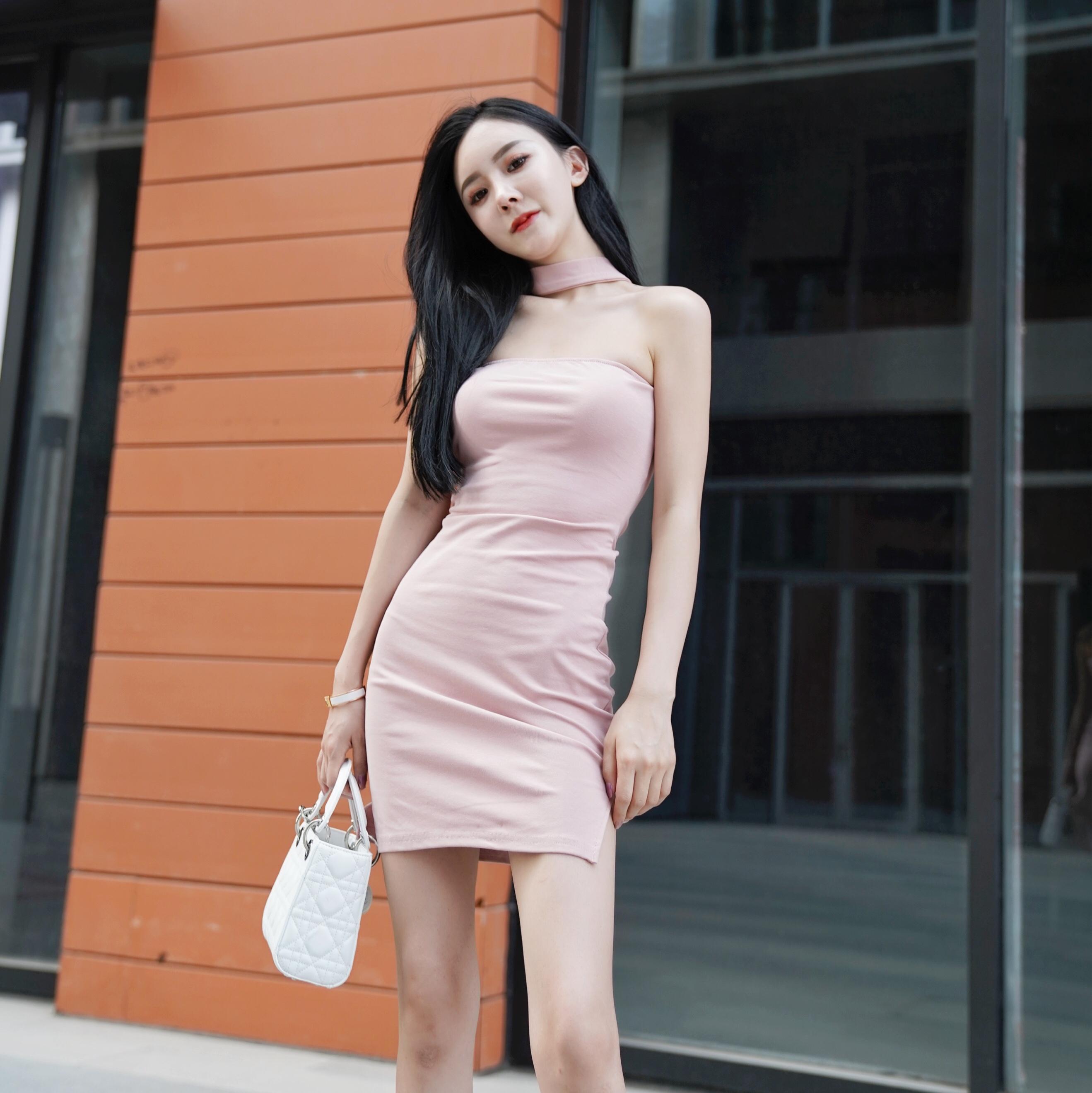 包臀修身连衣裙 2020夏款一件多穿性感绑带开叉包臀修身显瘦连衣裙_推荐淘宝好看的包臀修身连衣裙