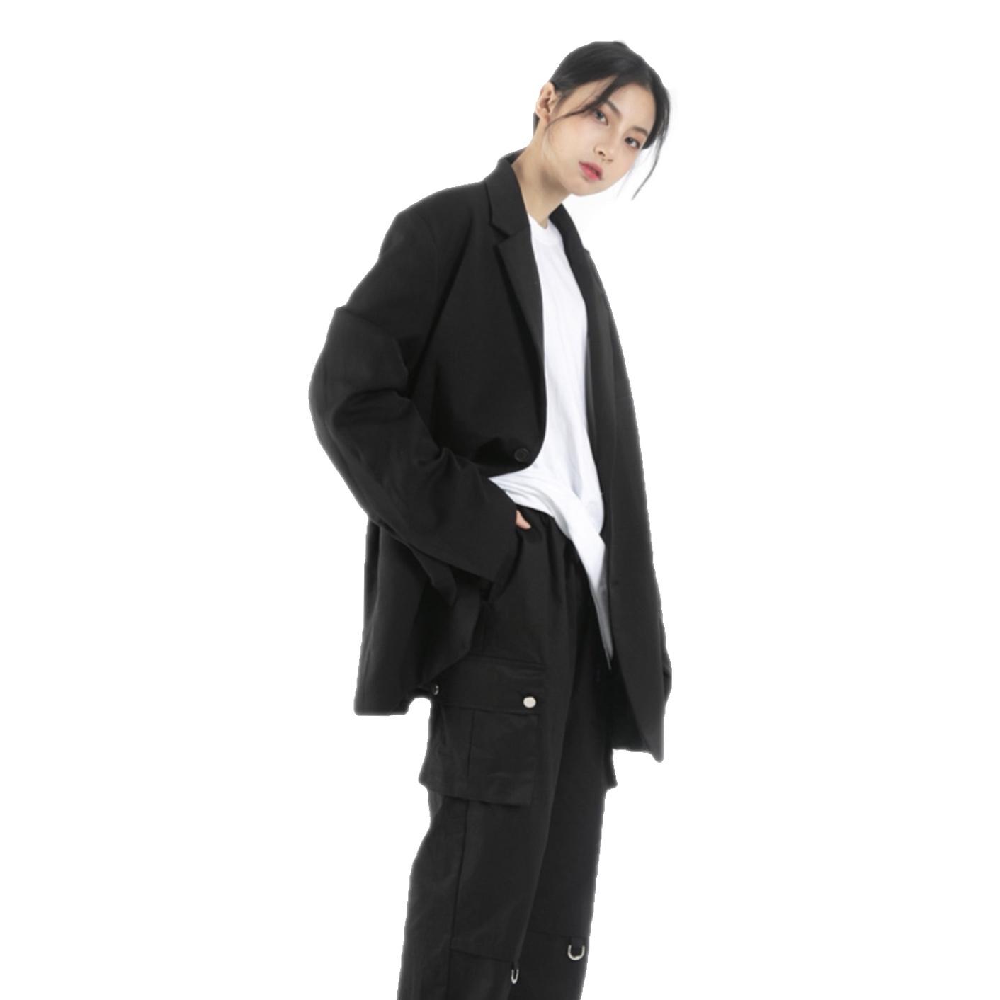 西装男 【313 Select】韩国自制Raucohouse街头百搭纯色西装外套男女款_推荐淘宝好看的西装男