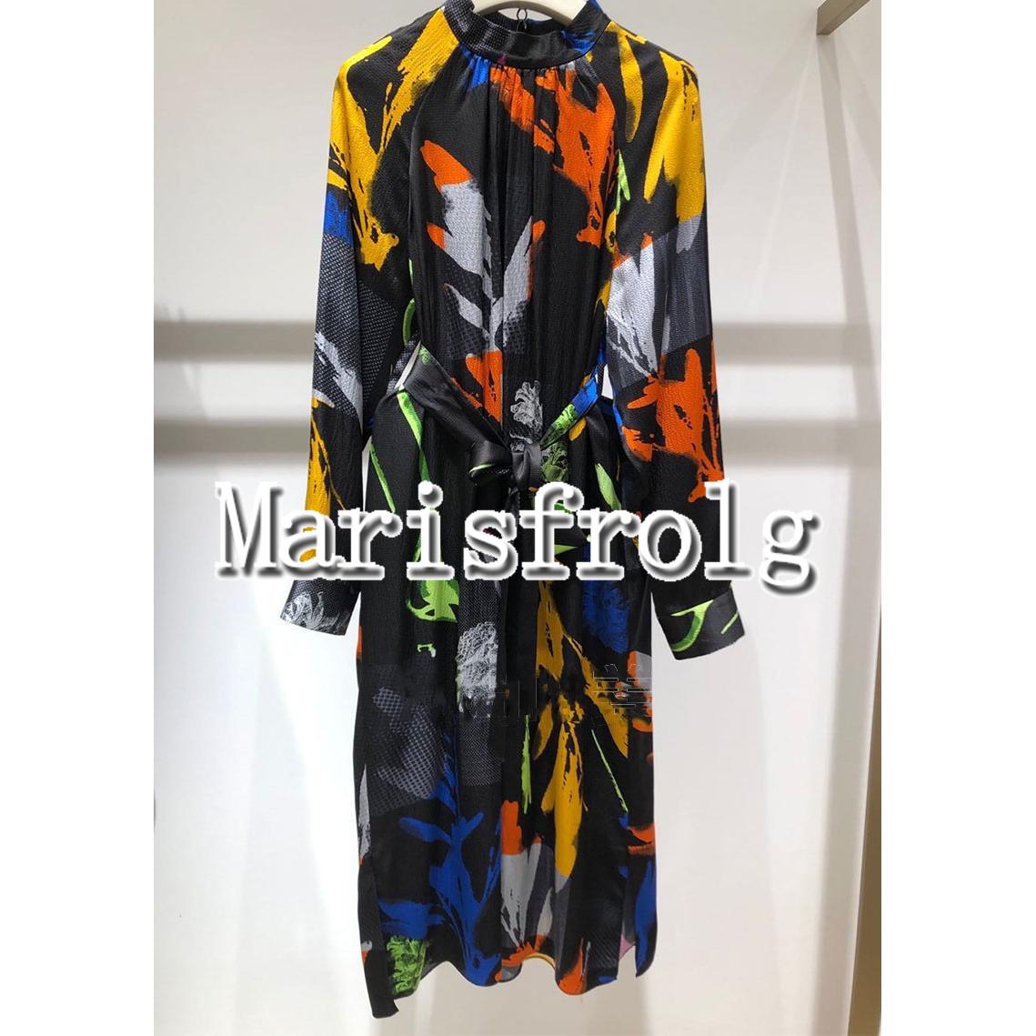 玛丝菲尔女装折扣 国内代购 玛丝菲尔2020夏季新款专柜正品连衣裙女A1AY12266原4680_推荐淘宝好看的玛丝菲尔折扣
