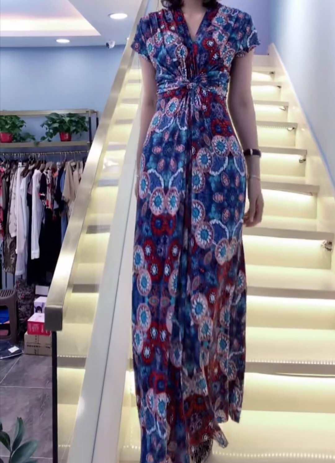 连衣裙 2020年夏季新款韩版修身洋气显瘦时尚连衣裙017DDDAF_推荐淘宝好看的连衣裙