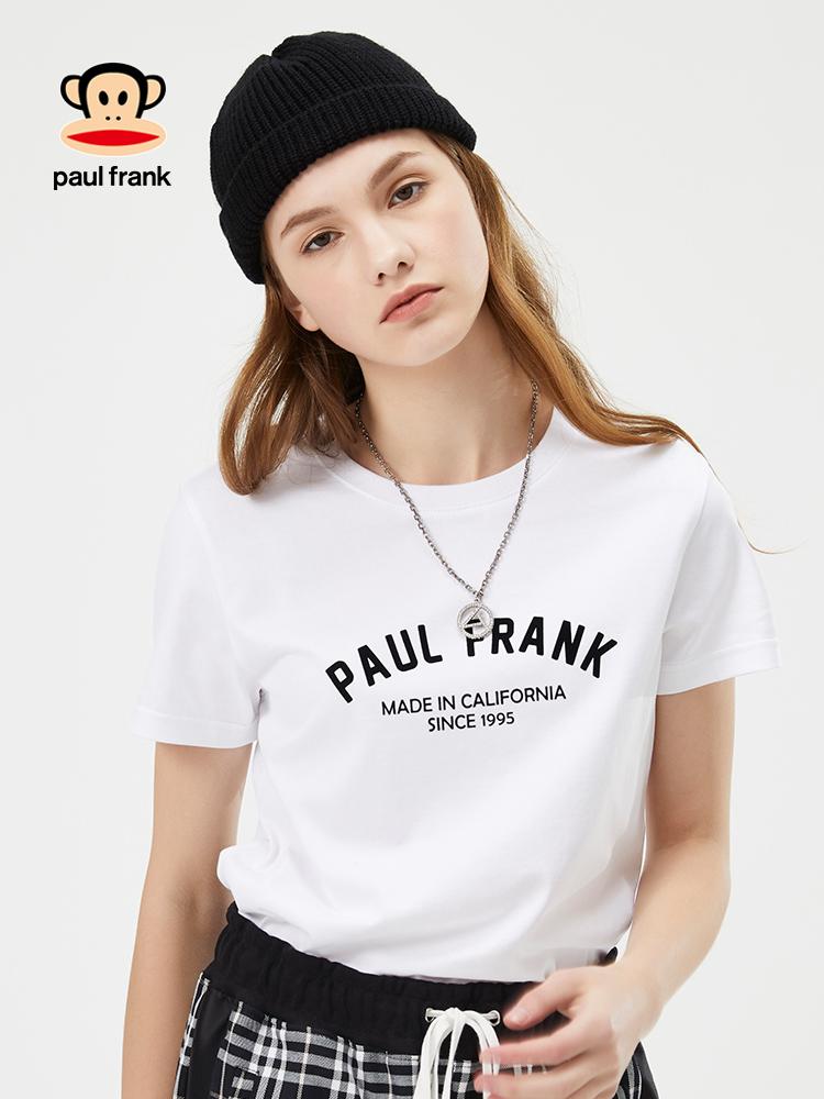 大嘴猴t恤 大嘴猴短袖女2020新款韩版潮流印花修身显瘦上衣T恤女_推荐淘宝好看的女大嘴猴t恤