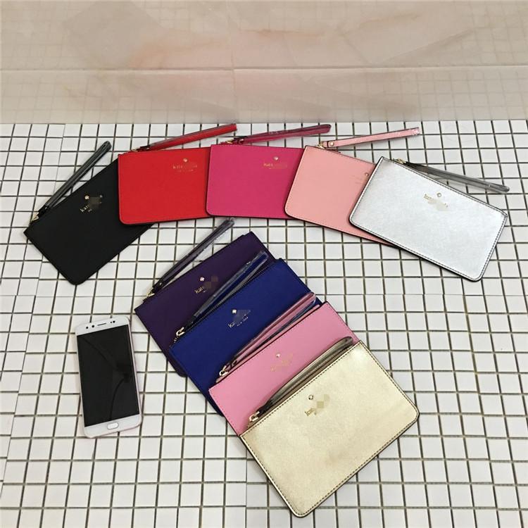 紫色糖果包 欧美大牌原单库存尾货时尚百搭糖果色零钱包手机包外贸手拿包女包_推荐淘宝好看的紫色糖果包
