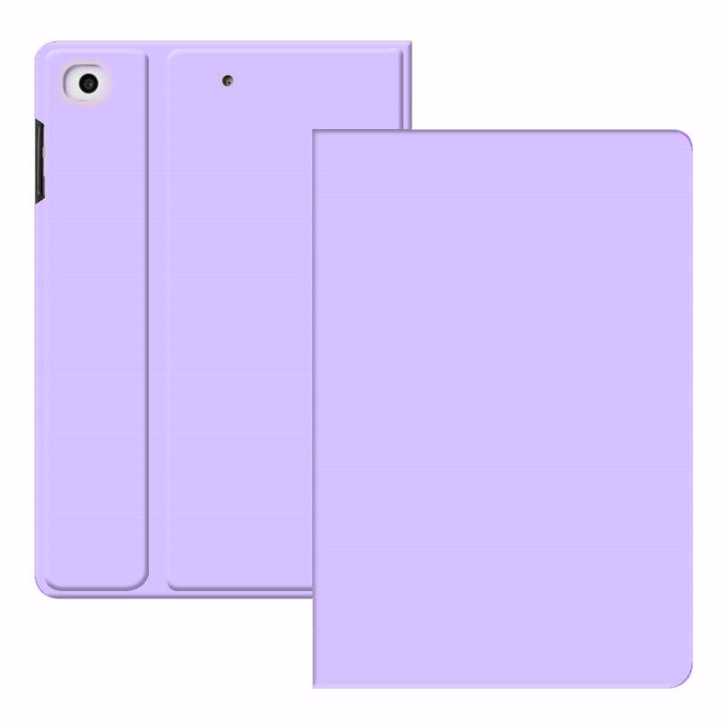 紫色迷你包 aipaid平板保护套10.2紫色全包超薄商务2019Air3代10.5简约壳子迷你54第五代六代7.99.7英寸纯色套子_推荐淘宝好看的紫色迷你包