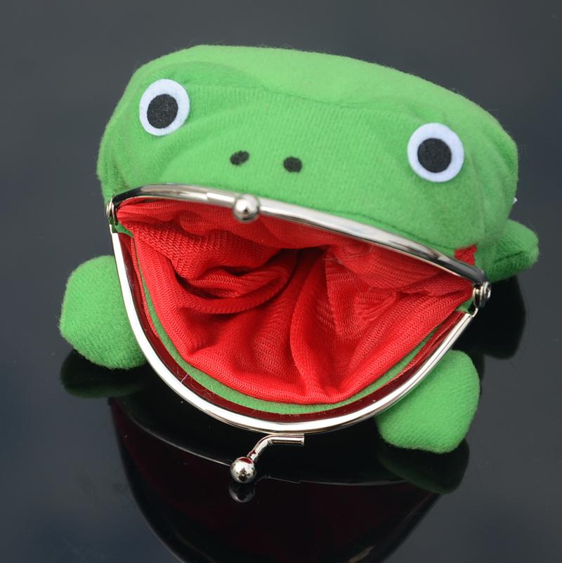 绿色钱包 火影钱包 忍者青蛙零钱包 鸣人蛤蟆 火影绿色二次元动漫周边_推荐淘宝好看的绿色钱包