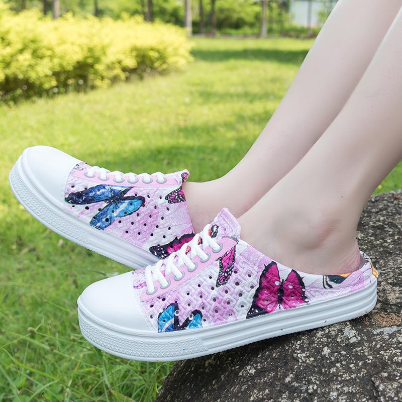 洞洞鞋 青少年女凉托鞋拖鞋女个性创意洞洞鞋包头凉鞋女沙滩鞋四季拖鞋女_推荐淘宝好看的女洞洞鞋