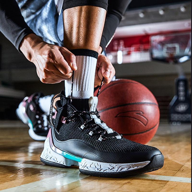 高帮安踏篮球鞋 安踏篮球鞋男2019新款UFO2代-异形高帮战靴实战篮球鞋11911620_推荐淘宝好看的高帮安踏篮球鞋