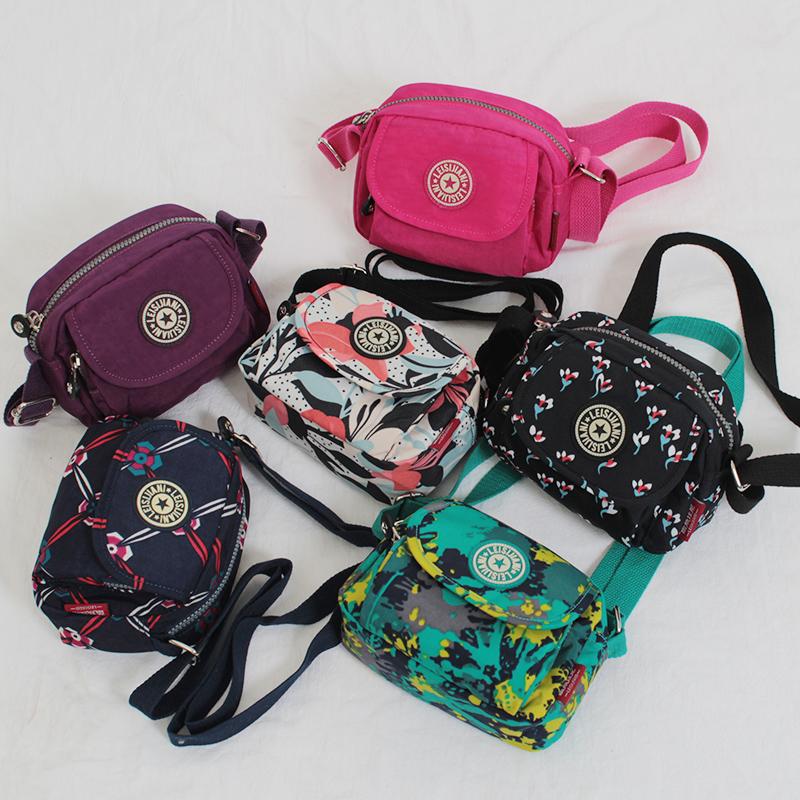 紫色斜挎包 迷你小包包夏季2020新款女斜挎包单肩帆布包零钱钥匙包散步手机包_推荐淘宝好看的紫色斜挎包