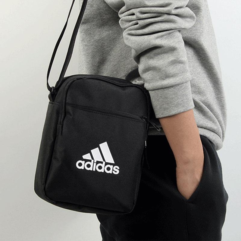 阿迪达斯单肩包 Adidas阿迪达斯单肩包男包女包2021新款运动背包斜挎包小包ED6877_推荐淘宝好看的女阿迪达斯单肩包