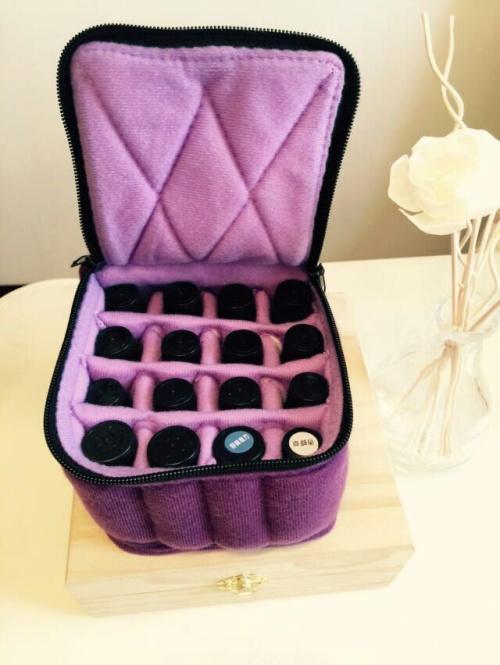 粉红色手拿包 16粉红色紫罗兰格15l精油收纳分装包便携手拿包 新款热卖中辅料_推荐淘宝好看的粉红色手拿包