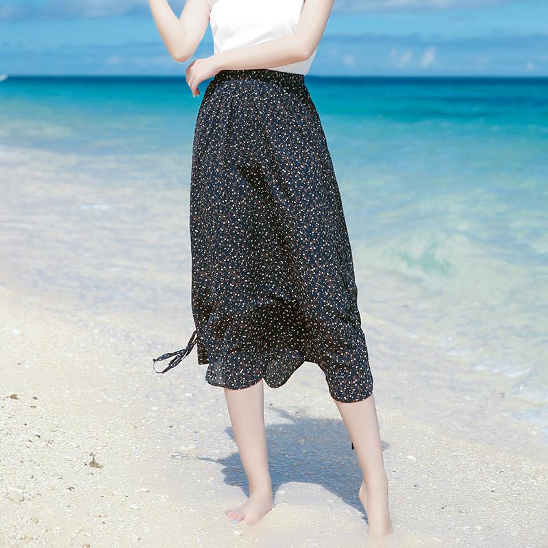 波西米亚雪纺半身裙 2020夏季半身裙长裙雪纺连衣裙海边度假沙滩裙半身裙波西米亚长裙_推荐淘宝好看的波西米亚雪纺半身裙