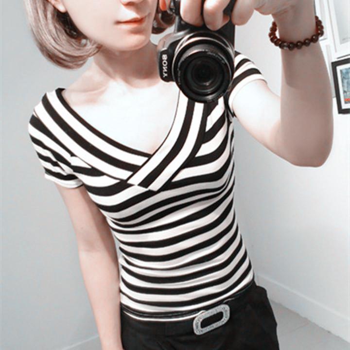 女士长袖t恤 韩版时尚上衣女内搭黑色长袖打底衫t恤_推荐淘宝好看的女长袖t恤