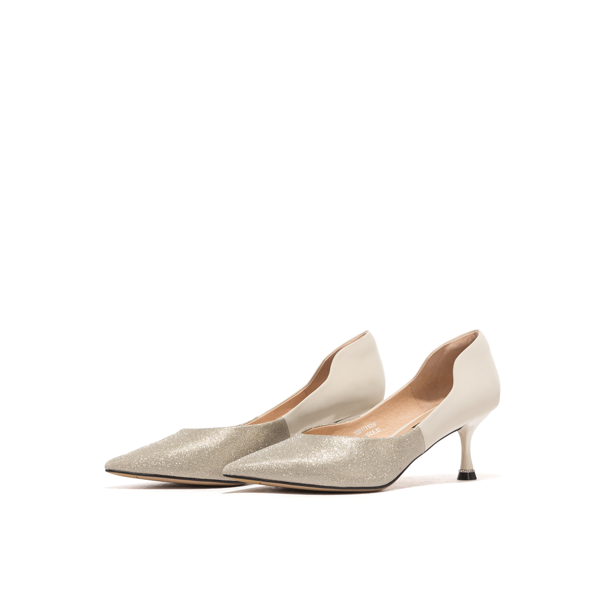 星期六尖头鞋 St&Sat星期六2020新款性感尖头高跟鞋女细跟单鞋SS01111059_推荐淘宝好看的女星期六尖头鞋