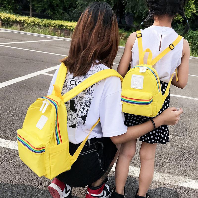 韩版双肩糖果包 韩版儿童2020夏季潮流百搭双肩包个性可爱迷你糖果色背包女潮_推荐淘宝好看的韩版双肩糖果包