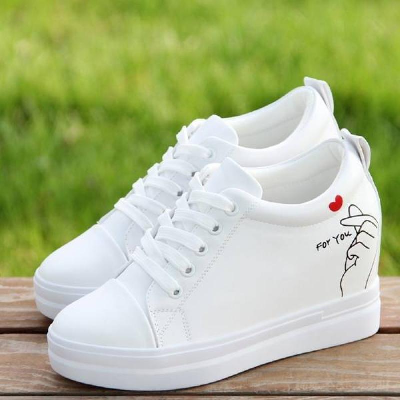 运动鞋 内增高小白鞋女2020新款休闲运动显瘦韩版8cm鞋子女_推荐淘宝好看的运动鞋