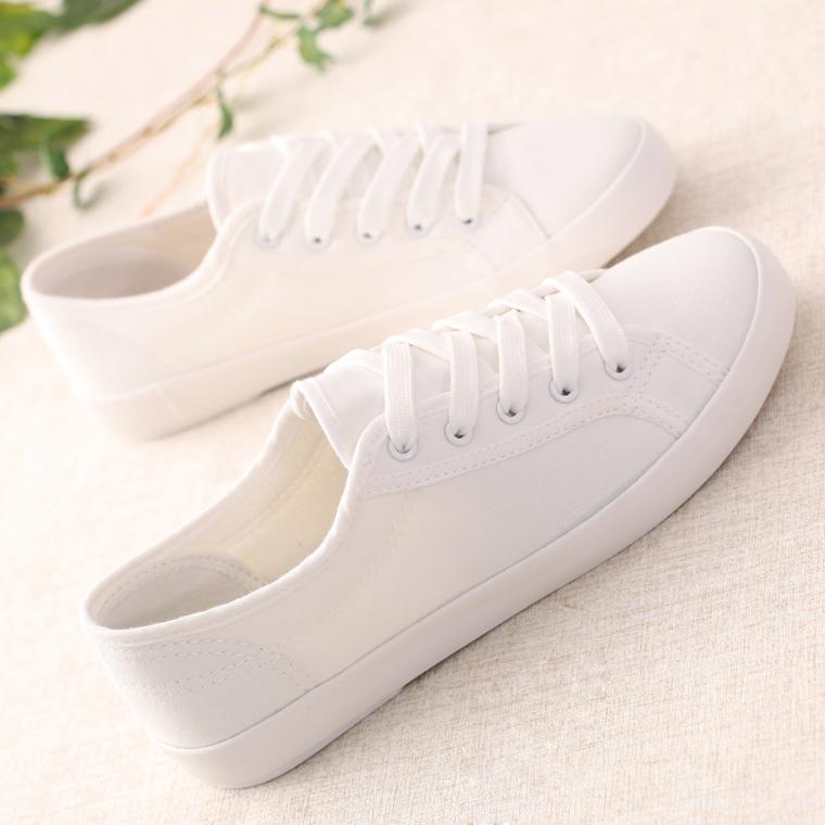 白色帆布鞋 环球文艺小白鞋女2021年新款夏季薄款百搭舒适单鞋学生白色帆布鞋_推荐淘宝好看的白色帆布鞋