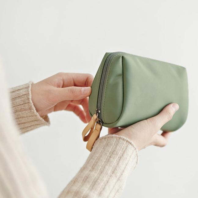 钱包 韩国化妆包女小号便携收纳包防水大容量收纳袋整理包零钱包手拿包_推荐淘宝好看的女钱包