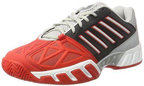 网球鞋 代购 K-Swiss盖世威 网球鞋 男士Bigshot Light 3红白黑运动鞋_推荐淘宝好看的男网球鞋