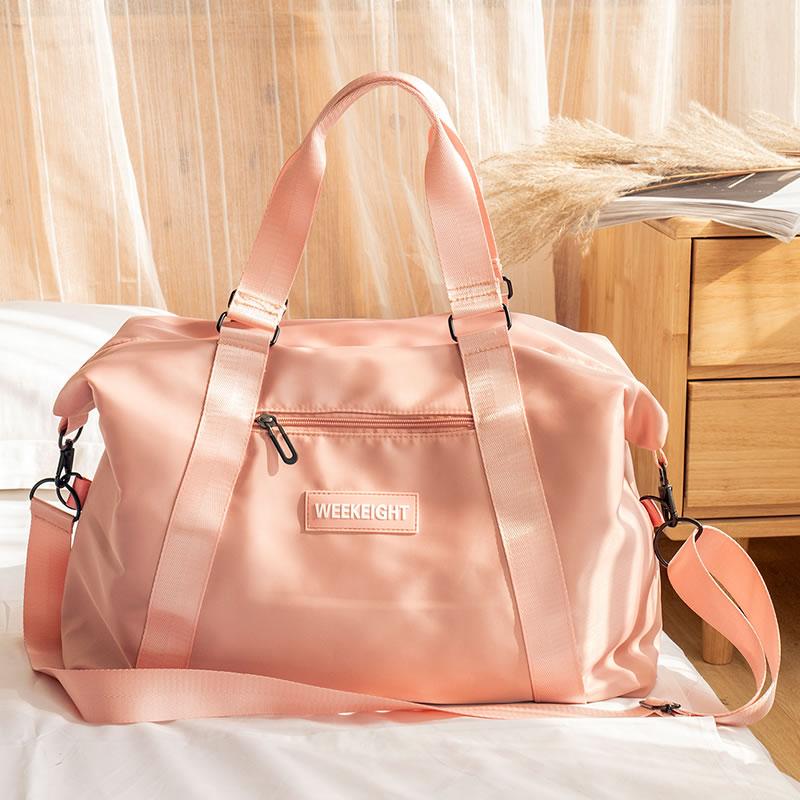 彭丽媛手提包 旅行包女手提收纳袋短途大容量干湿分离网红旅游外出差行李包袋_推荐淘宝好看的女手提包