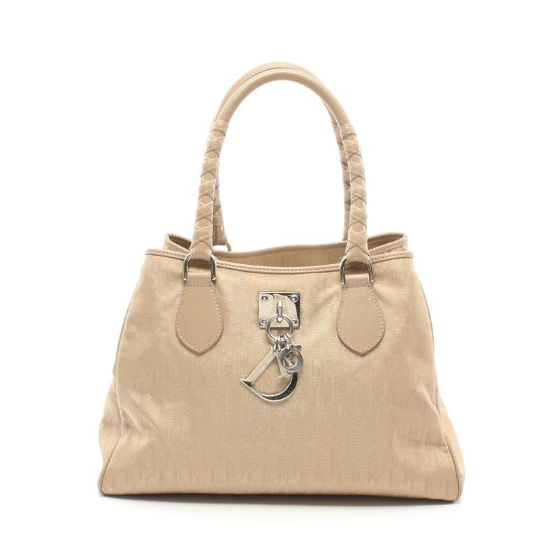 迪奥手提包 中古Christian Dior迪奥【B】9.0新Trotter 手提包 女性652832_推荐淘宝好看的迪奥手提包