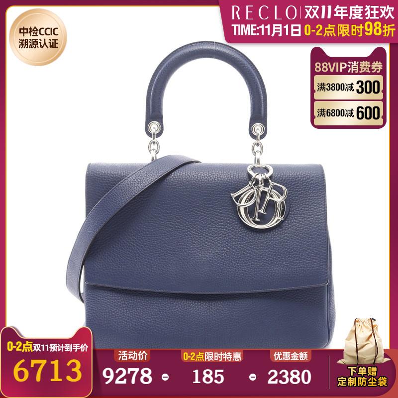 迪奥手提包 RECLO中古Dior迪奥(B)9新BE DIOR 蜜蜂 手提包 两用款698936_推荐淘宝好看的迪奥手提包