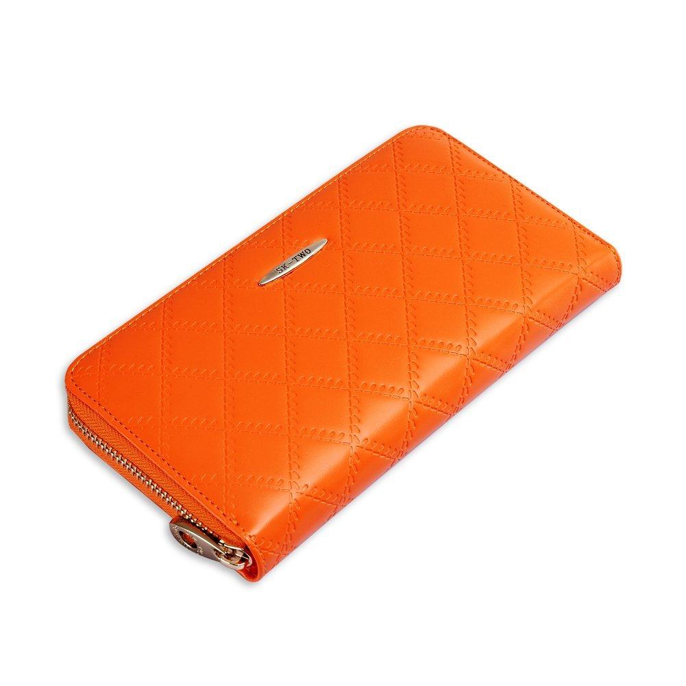 黄色手拿包 SK-TWO 女式 大容量设计时尚韩版手拿长款钱包  包邮_推荐淘宝好看的黄色手拿包