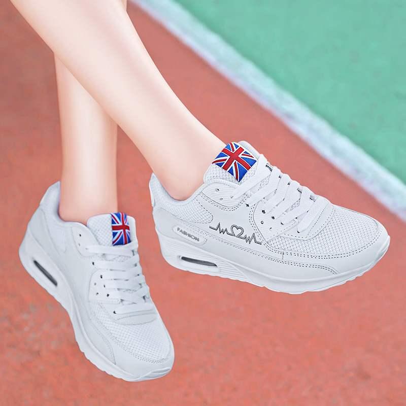 耐克气垫运动鞋 恩施耐克秋季女鞋子运动鞋学生百搭气垫小白鞋韩版旅游鞋女款波鞋_推荐淘宝好看的女耐克气垫运动鞋