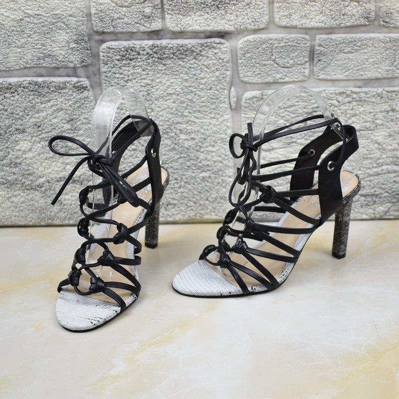 真皮罗马鞋 外贸女鞋夏季女原单出口美国罗马鞋真皮复古风脚后绊带镂空凉鞋_推荐淘宝好看的真皮罗马鞋