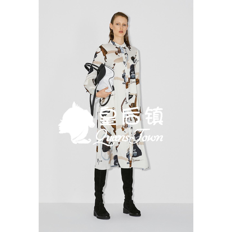 玛丝菲尔代购 国内代购 玛丝菲尔2020秋季专柜正品 连衣裙女 A1KT40726 原3680_推荐淘宝好看的玛丝菲尔代购