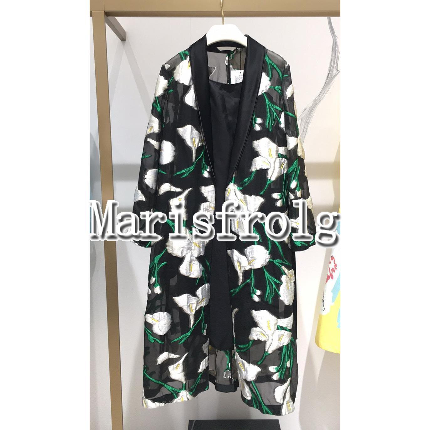 玛丝菲尔女装折扣 国内代购 玛丝菲尔2020春季专柜正品 女装新风衣 外套女A1JS12018_推荐淘宝好看的玛丝菲尔折扣