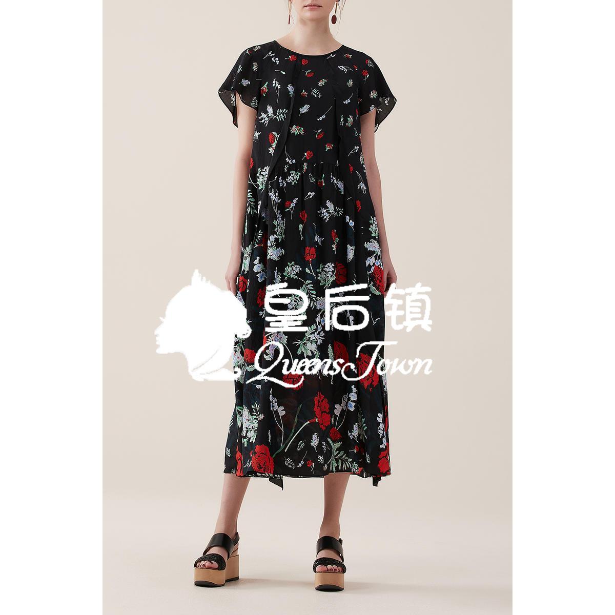 玛丝菲尔女装折扣店 国内代购 玛丝菲尔2020夏季新款专柜正品连衣裙女A1JS23056原4280_推荐淘宝好看的玛丝菲尔