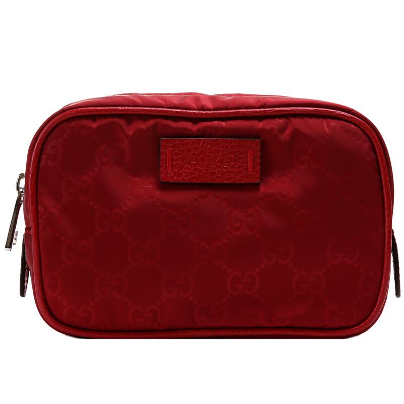古驰手拿包 古奇GUCCI 古驰 女士红色涤纶钱包手拿包 510341_推荐淘宝好看的女古驰手拿包