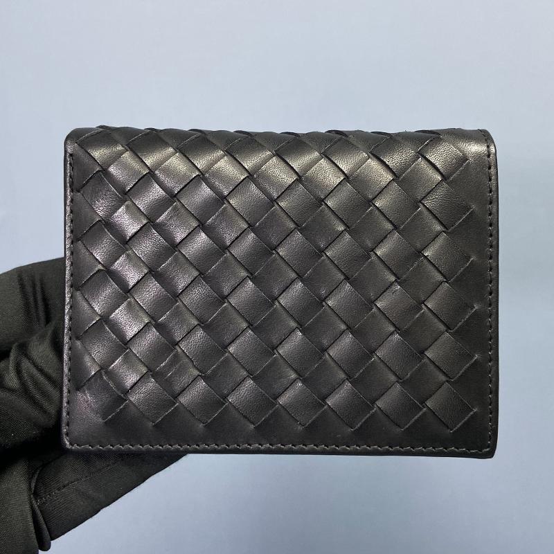 lv最新款钱包 CK LV BV男士卡包钱包一体包名片包女式精致高档真皮编织短款新款_推荐淘宝好看的女lv新款钱包