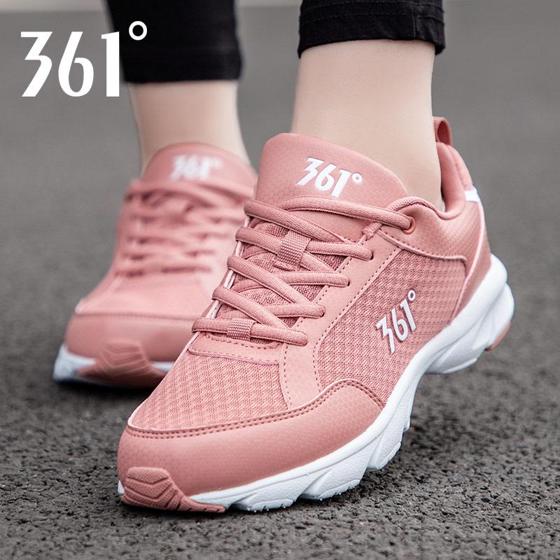 361度运动鞋 361运动鞋女跑步鞋2020新款春季女士休闲网面鞋夏季361度旗舰女鞋_推荐淘宝好看的女361度运动鞋