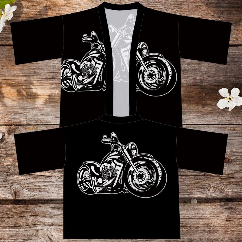 女装品牌 复古潮牌摩托机车风复古披风外套个性潮流小伙汉服夏季男女装衣服_推荐淘宝好看的女装