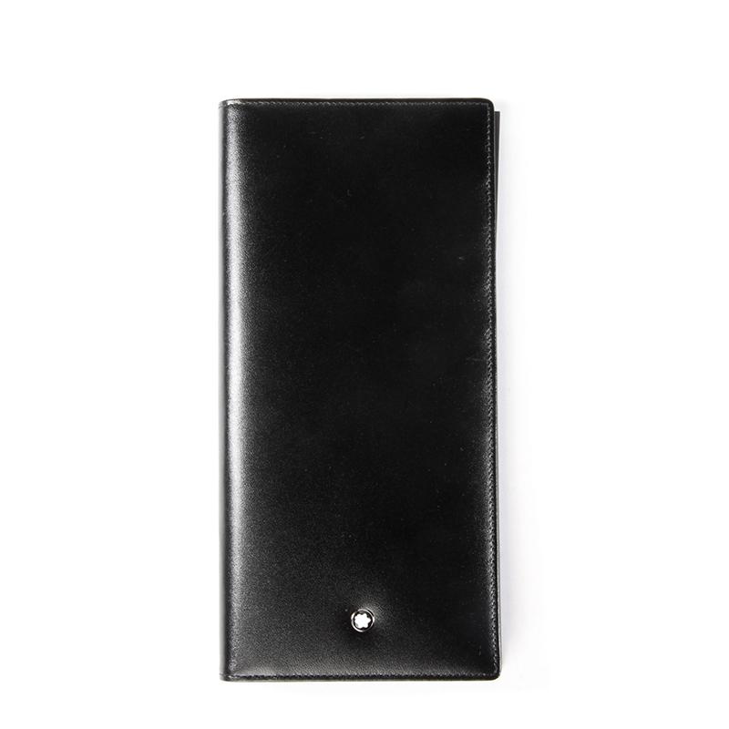 montblanc钱包 MONTBLANC万宝龙 男士中长型真皮钱包男皮夹 7165_推荐淘宝好看的montblanc钱包