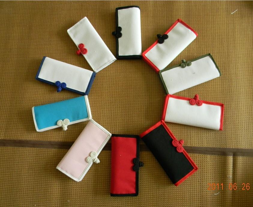 粉红色钱包 中国风DIY   手绘包  手绘钱包   空白钱包  帆布钱包 布艺钱包袋_推荐淘宝好看的粉红色钱包