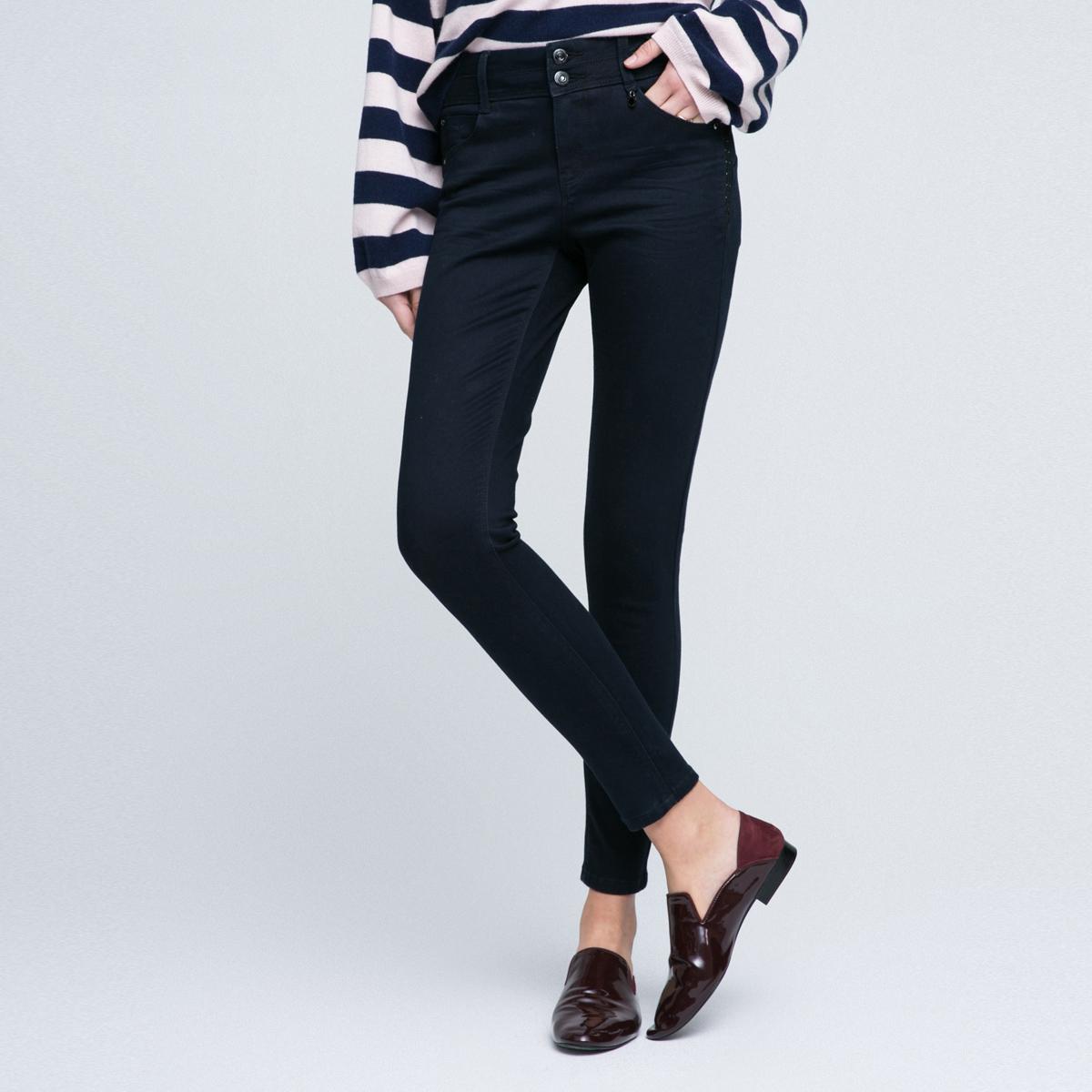 修身牛仔裤女款 ONLY2018年新品休闲纯色修身中腰修身长款牛仔裤女|117132501_推荐淘宝好看的修身牛仔裤女