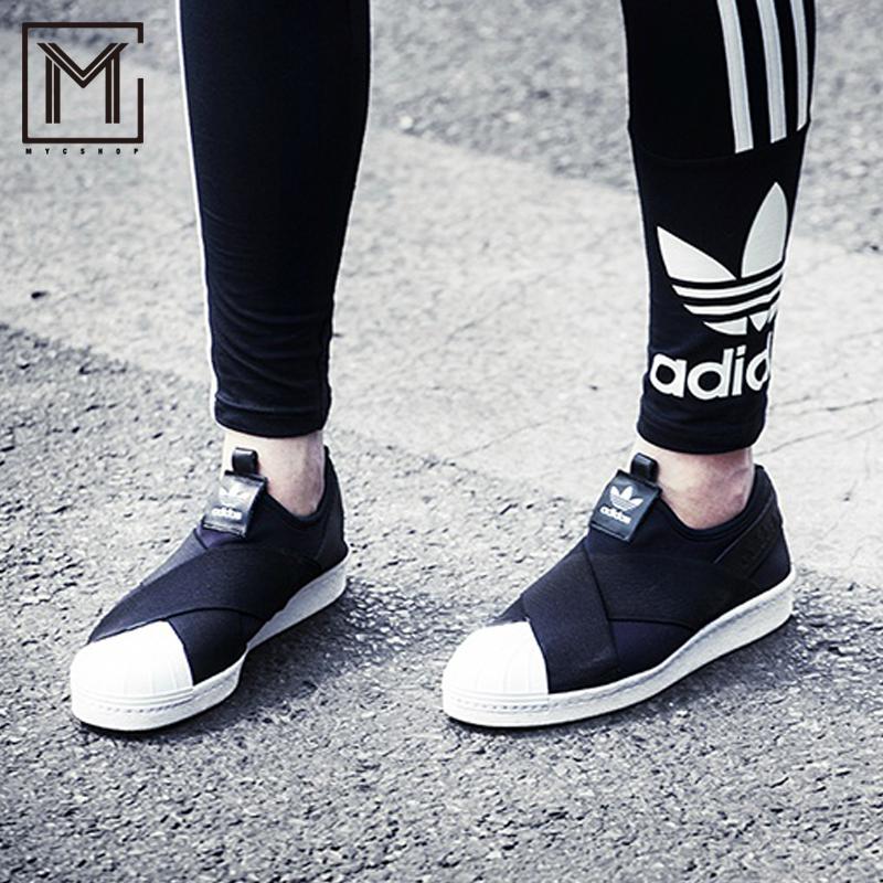 阿迪达斯运动鞋 阿迪达斯三叶草SUPERSTAR男女休闲运动板鞋 BZ0112-0114BB-2122_推荐淘宝好看的女阿迪达斯运动鞋