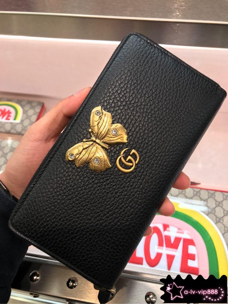 古驰钱包 Gucci古奇 新款女士长款拉链钱包 499363_推荐淘宝好看的女古驰钱包