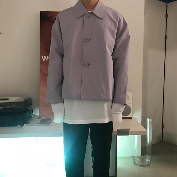男士短款风衣 白菜家精品男装店 新品进口日系短款男风衣_推荐淘宝好看的男短款风衣