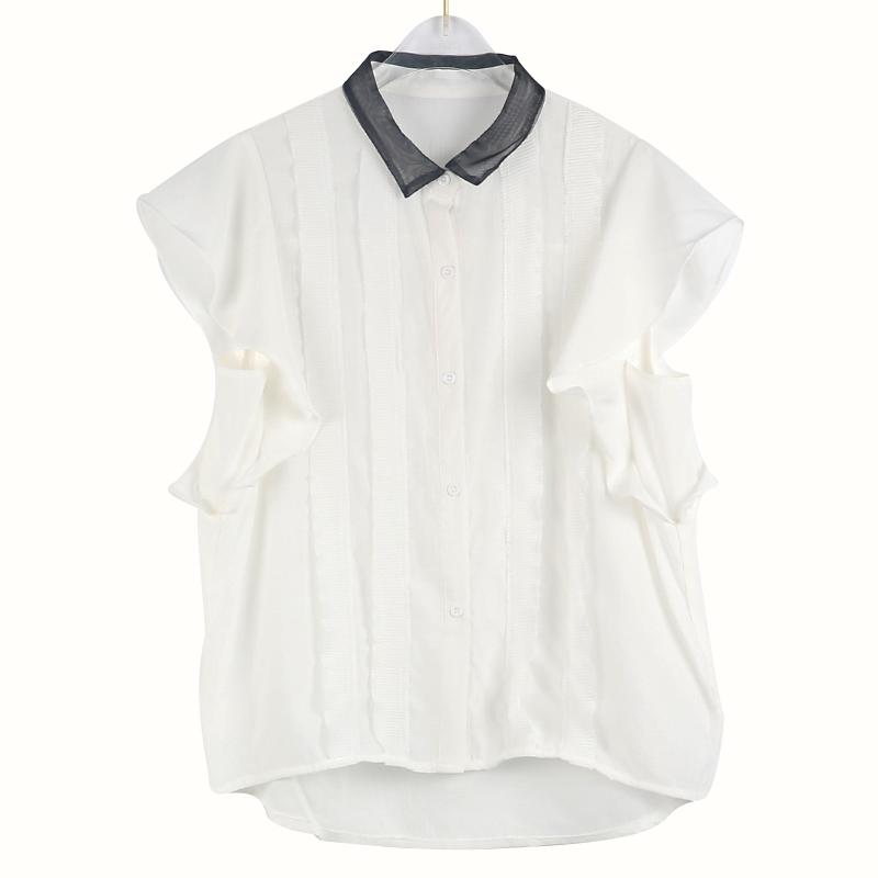 短袖衬衫 8294短袖衬衫女范_推荐淘宝好看的女短袖衬衫