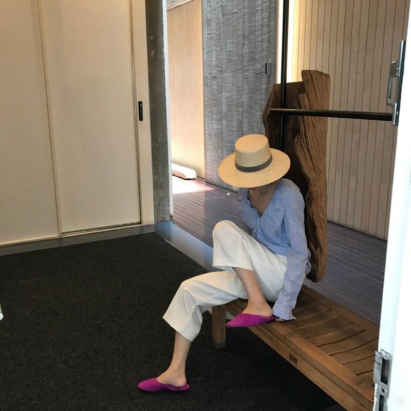 紫色平底鞋 奶奶鞋女紫色平底2019新款韩版百搭浅口平底单鞋女玫红色鞋蛋卷鞋_推荐淘宝好看的紫色平底鞋