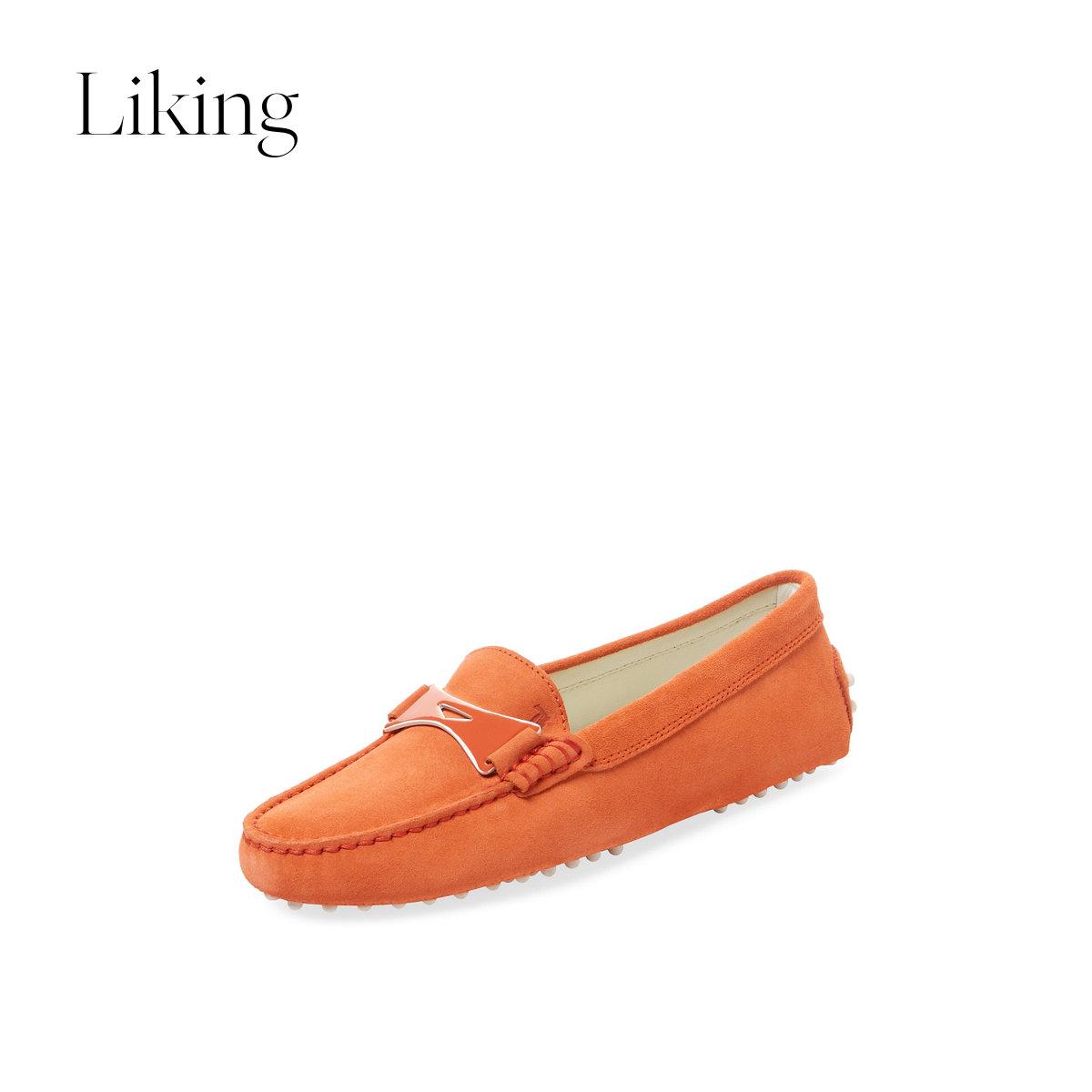 tods豆豆鞋 tods托德斯 女士乐福鞋豆豆鞋_推荐淘宝好看的女tods豆豆鞋