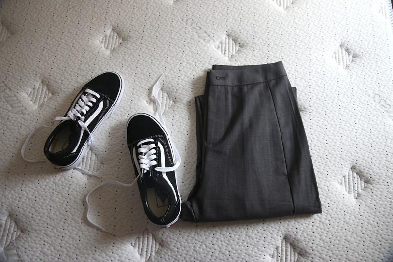 休闲裤 (木夕家)好多人要的   中高腰  休闲 西裤  女_推荐淘宝好看的女休闲裤