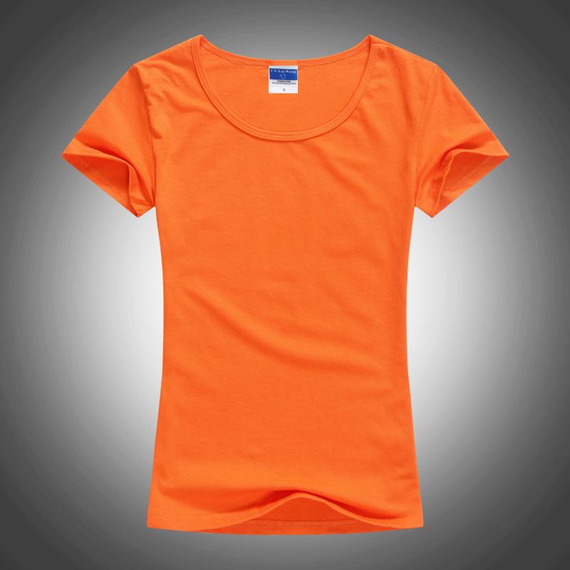 空白t恤 女士款圆领T恤手绘短袖莱卡棉广告衫空白热转印文化衫打底衫定制_推荐淘宝好看的女空白t恤
